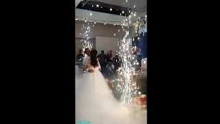 Funk Circuit™ Low Lying Fog (Without Dry Ice) & Indoor Sparks for a Wedding (11-7-2019)