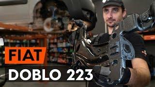 Montáž vľavo a vpravo Rameno Zavesenia Kolies FIAT DOBLO Cargo (223): video zadarmo