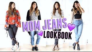 mom jeans lookbook