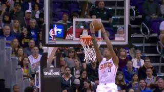 Marquese Chriss Nasty Reverse Oop Slam Twolves@Suns January 24, 2017