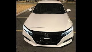 2018 Honda Accord Sport 1.5 –  Family Sedan Test Drive In-depth Review - Inside & Out