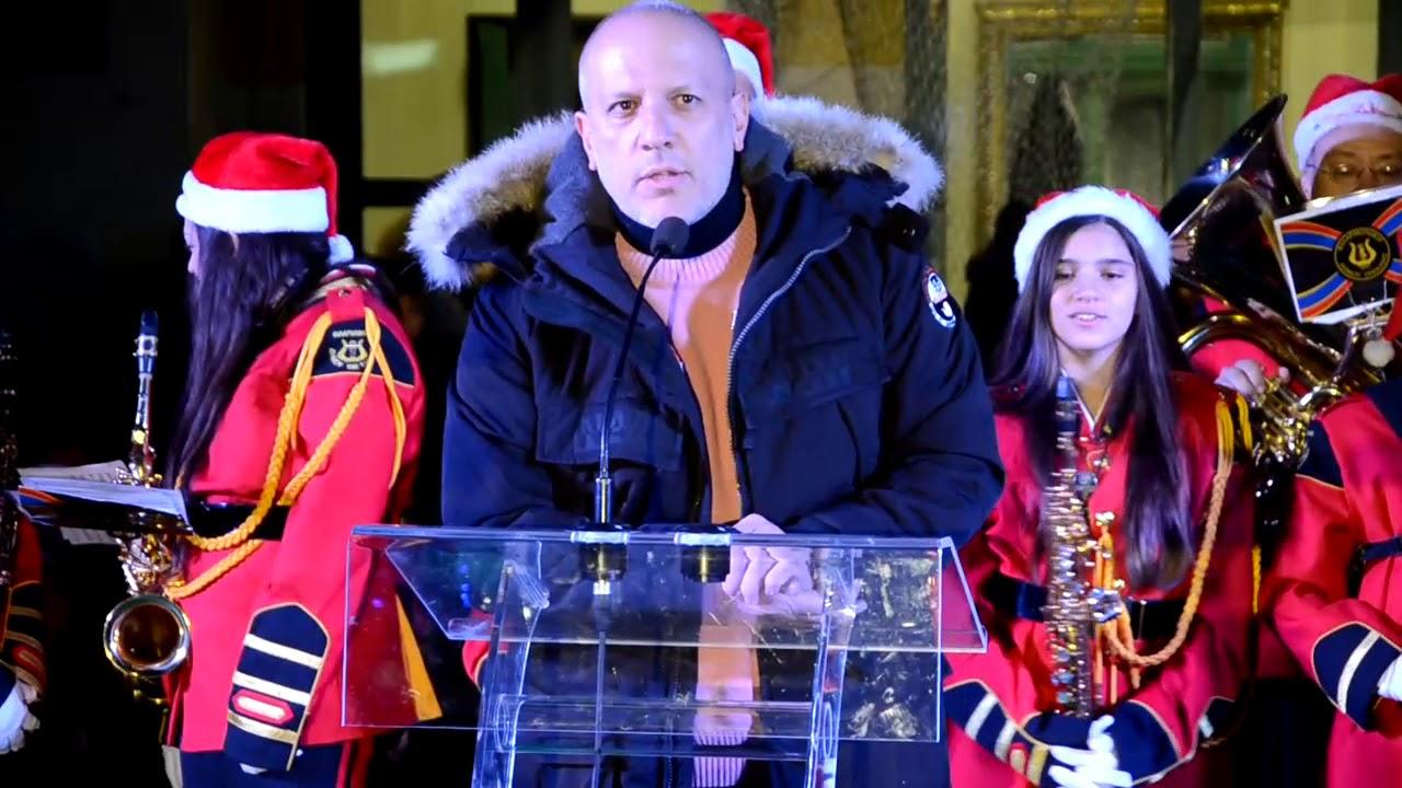 Ο Δήμος Τρίπολης κήρυξε την έναρξη των χριστουγεννιάτικων εκδηλώσεων του.
