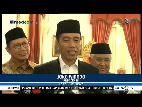 Jokowi Sebut Cawapresnya Mengerucut Jadi Lima Nama