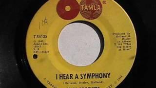 ISLEY BROTHERS I HEAR A SYMPHONY TAMLA RECORDS