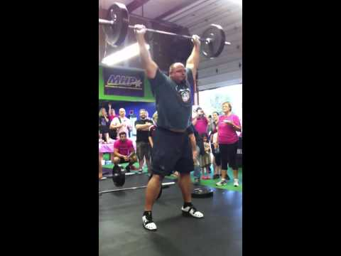 Strongman Brian Shaw meets CrossFit