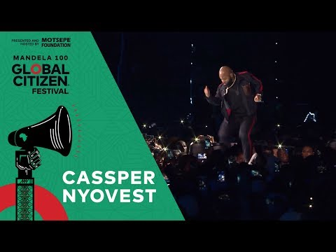 "Cassper Nyovest Performs ""Monate Mpolaye"" 