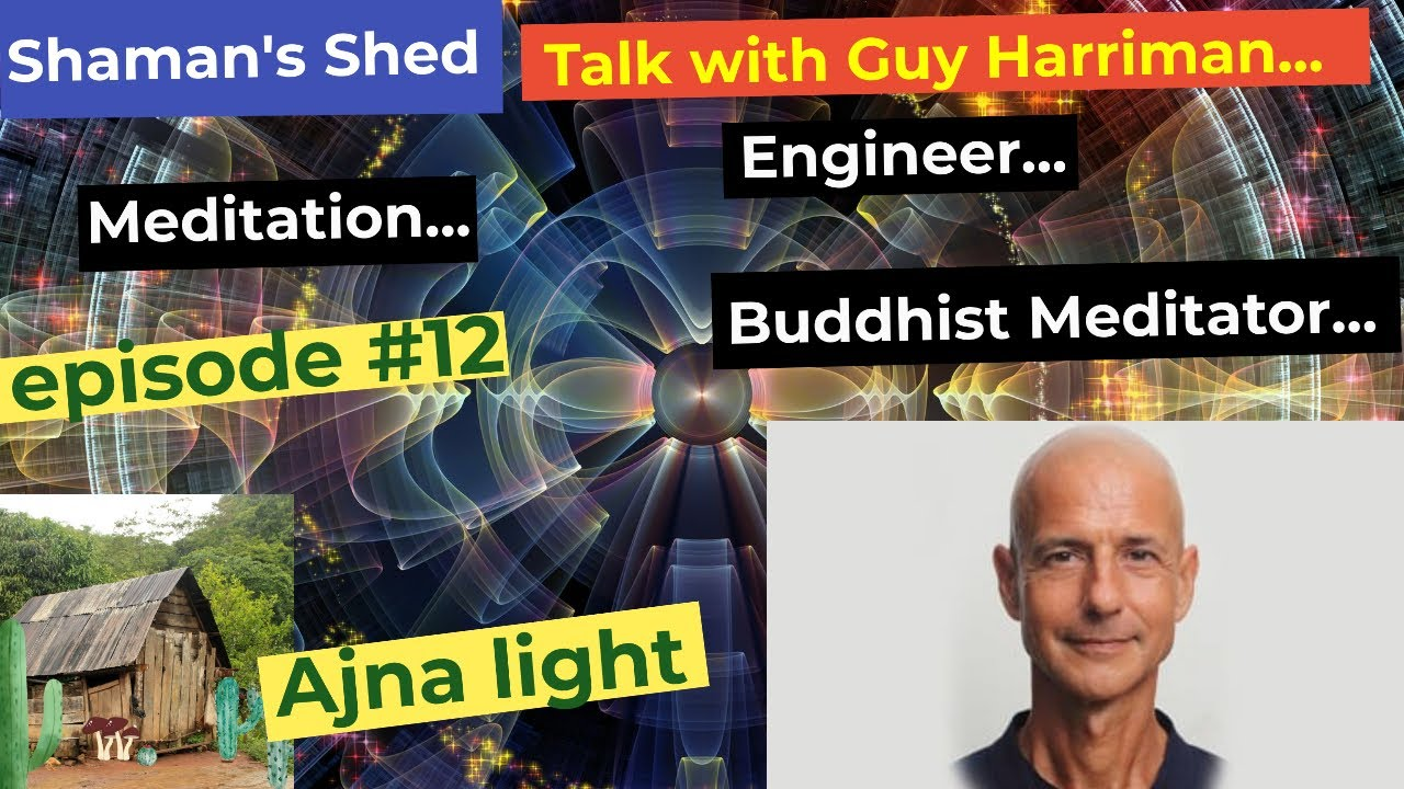 #12 Talk with Guy Harriman   Meditation, diet and spirituality.