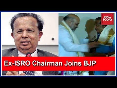 Former ISRO Chairman, Madhavan Nair Joins BJP In Kerala