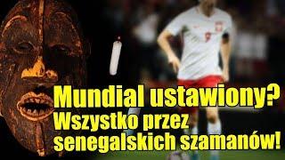 Reprezentacja Senegalu w piłce nożnej korzysta z pomocy czarnej magii!