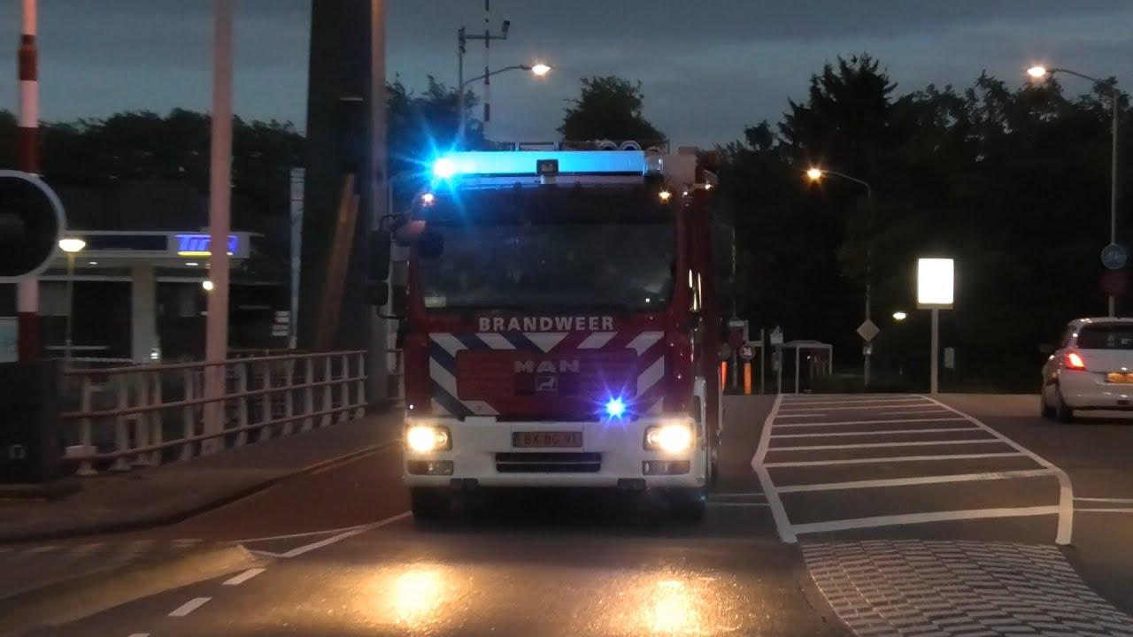 Vele hulpdiensten met spoed naar een grote brand in Gorinchem