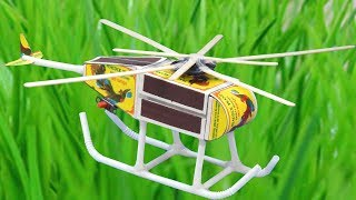 How to make a Matchbox Helicopter - DIY Helicopter