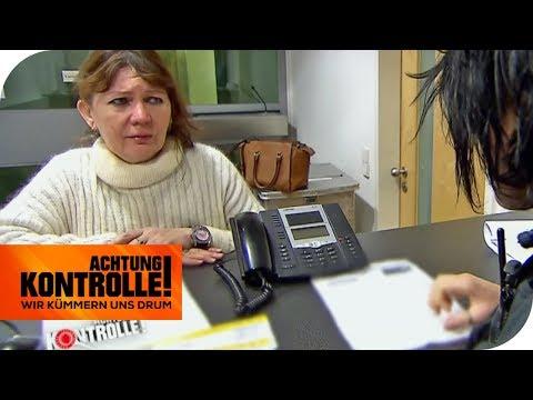 OHNE PASS in Deutschland - Usbekin strandet am FLUGHAFEN München   Achtung Kontrolle   kabeleins