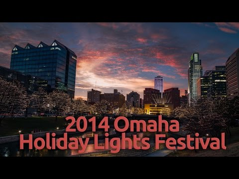 Omaha Holiday Lights 2014 (4k timelapse)
