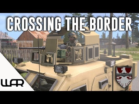 🚙 CROSSING THE BORDER - OPERATION RED TIGER - MILSIM (Arma 3) - 183rd Air Assault - Episode 14