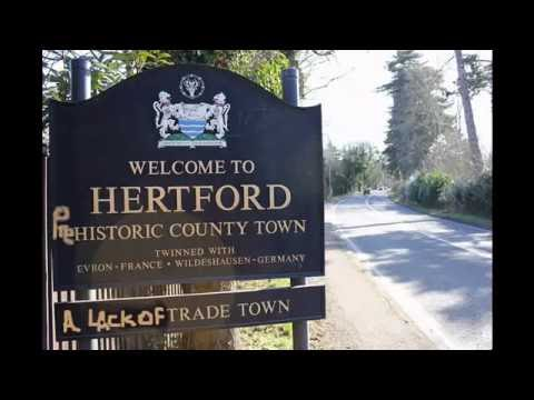 Hertford town UK - Historic County town