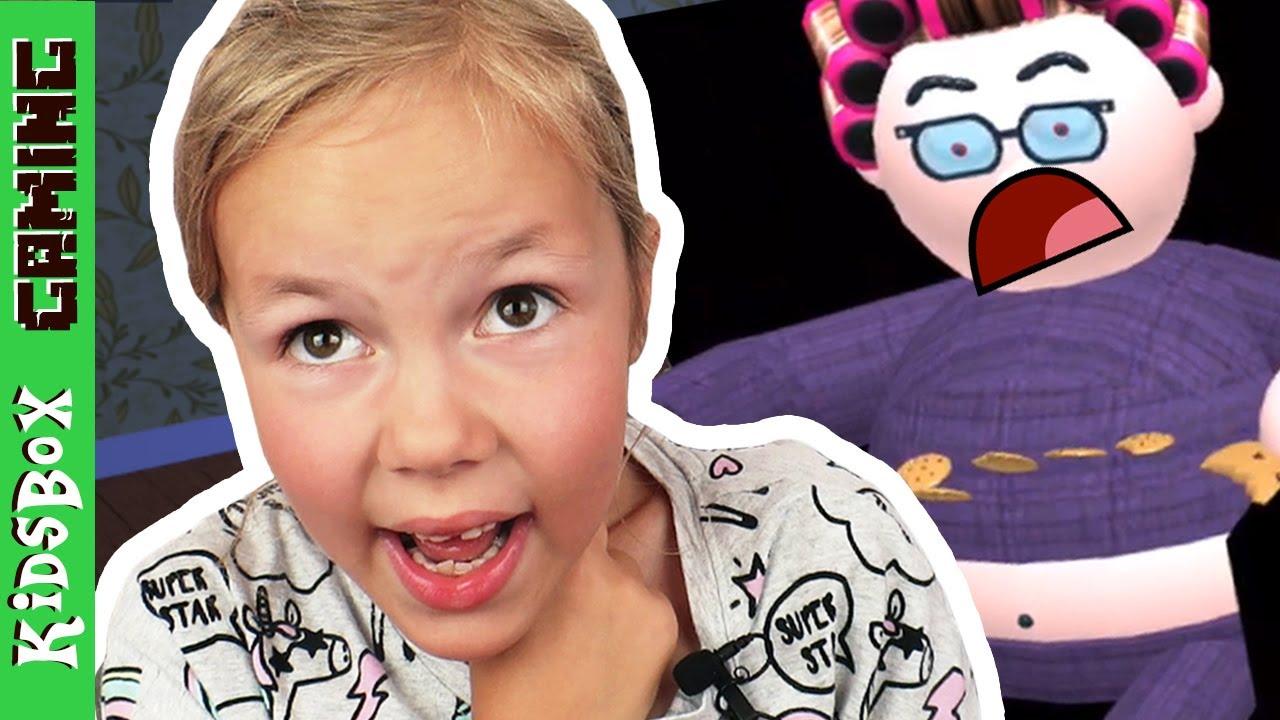 Escape Evil Grandma S House In Roblox Youtube - Grandma What Big Eyes You Have Escape Evil Grandma Obby Roblox
