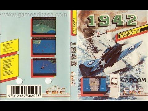 1942 - Commodore 64 (Loading & Gameplay) C64