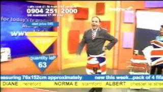 bid tv - Peter Simon falls over (yet again!)