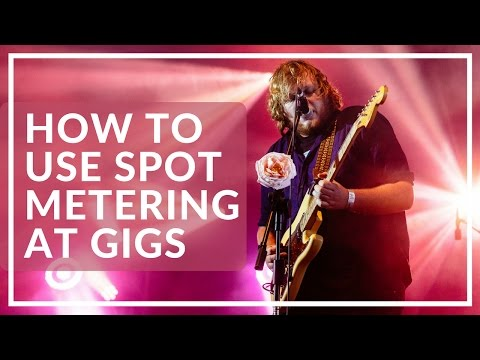 Concert Tips For A Beginner 4: How to use spot metering