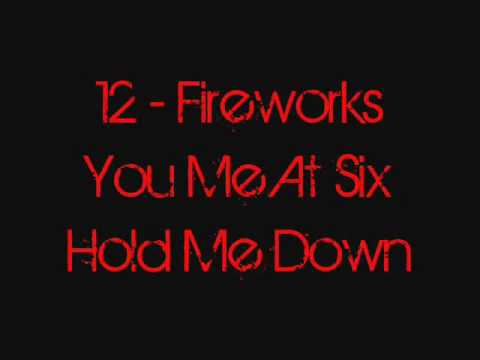 You Me At Six - 12 - Fireworks (Lyrics)