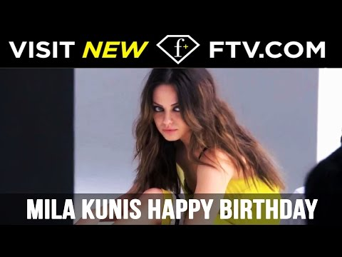 Mila Kunis Happy Birthday - 14th Aug | FTV.com