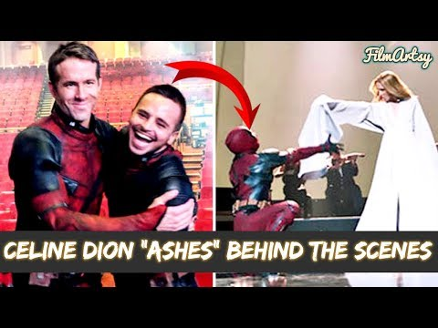 Deadpool 2 - Celine Dion Ashes Funny Behind the Scenes - 2018