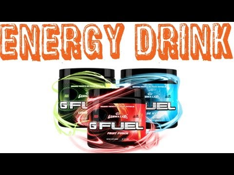G Fuel Review (Gaming Energy Drink)