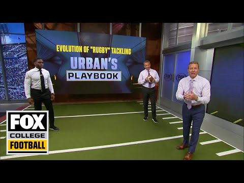 Urban Meyer discusses the evolution of 'rugby' tackling | URBAN'S PLAYBOOK | FOX COLLEGE FOOTBALL