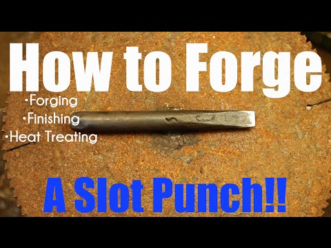 How to make Blacksmithing Tools! - The Slot Punch