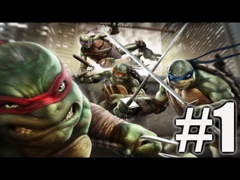 Chapter 1 - Teenage Mutant Ninja Turtles: Out of the Shadows Walkthrough Part 1 (TMNT: OotS) from YouTube · Duration:  48 minutes 2 seconds