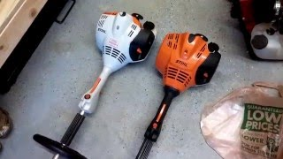 STIHL FS 70R TRIMMER REVIEW and UPDATE