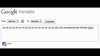 Google Beatbox Translate Demo