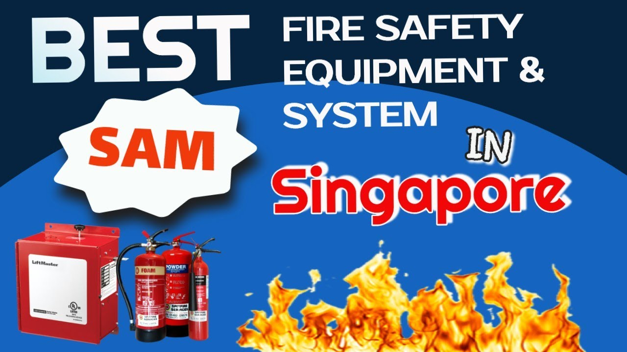 Most reliable fire safety equipment and system supplier in Singapore
