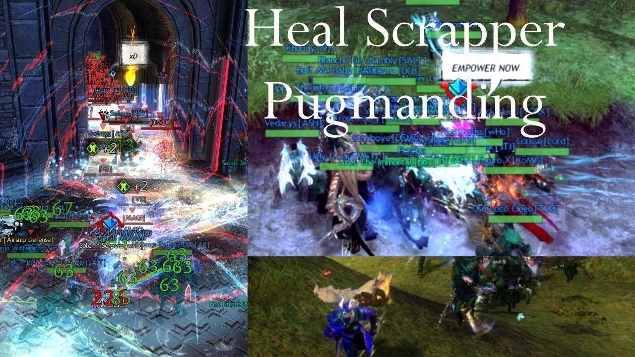 Heal Scrapper is Amazing for Textmanding !! (+ Build)