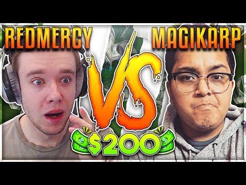 REDMERCY VS MAGIKARPUSEDFLY  $200 1v1 SHOWDOWN Season 2 - League of Legends