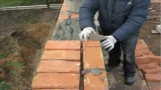 видео Кладка цегли