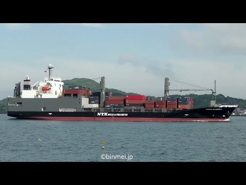 PACIFIC ISLANDER II -  NYK BULK & PROJECTS CARRIERS ro-ro & container ship