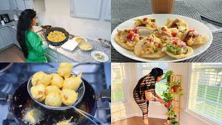 🛕EVENING ROUTINE ☕️+Easy 😋Snacks👩🍳Cooking My Fav Quick Prasad New Look for Interior My 
