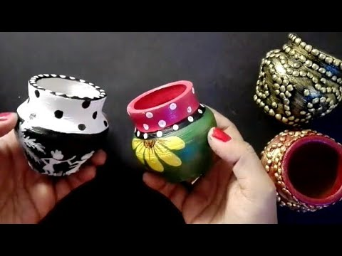 2 easy pot painting ideas