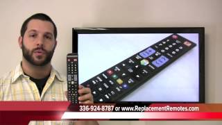 SAMSUNG Smart TV AA59-00580A Remote Control PN: AA5900580A - www.ReplacementRemotes.com