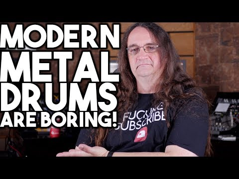 Modern Metal Drums ARE BORING!!!!    Spectre VC