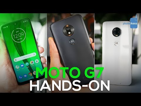Moto G7, G7 Power, and G7 Play hands-on