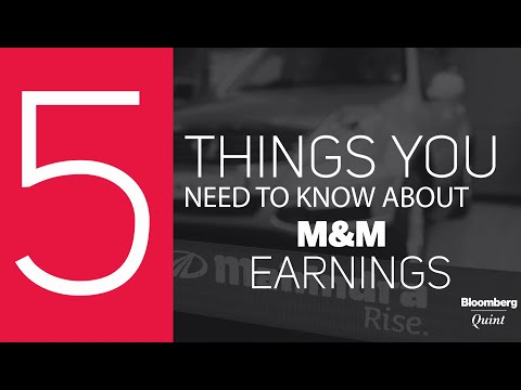 5 Things You Need To Know About Mahindra & Mahindra Earnings