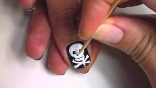 au vintage   skull nails