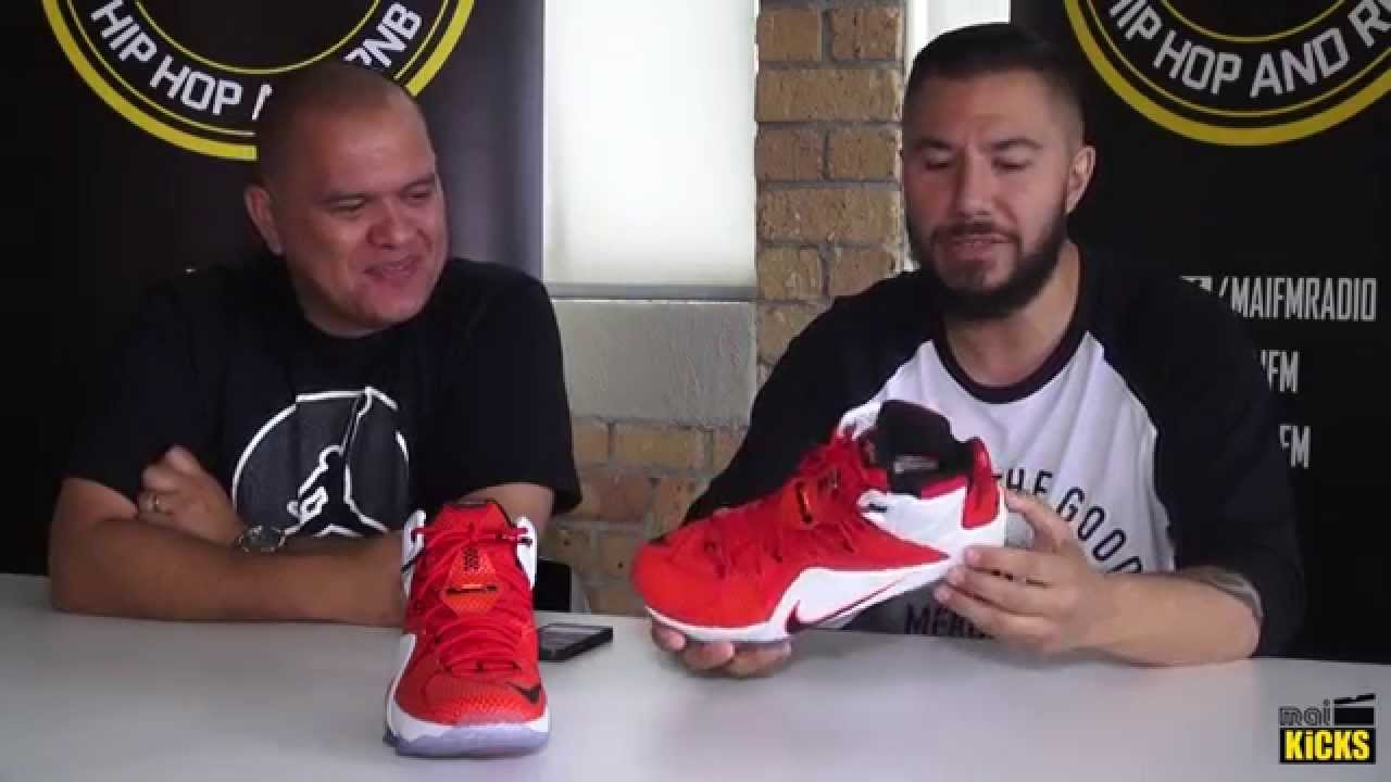 9503f8a82c9d Mai Kicks – Episode Six  Nike LeBron 12 - YouTube