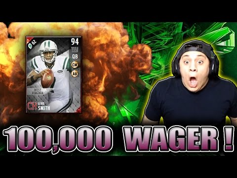 CAN GENO SMITH GET US THE WIN?! (100K WAGER) - MADDEN 17 ULTIMATE TEAM