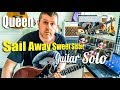 Queen - Sail Away Sweet Sister - Guitar Solo Tutorial (Feat Steven James)