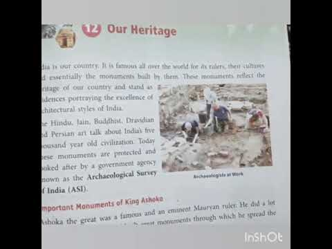 Download Class 4 chapter 12 Our Heritage part 3