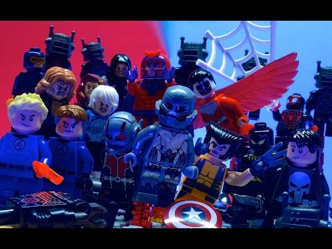 Lego Avengers - EXTRACTION (PART 1/2)