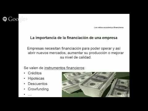 Los ratios económico-financieros